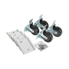 Caster Plate and Wheel Kit Image 0