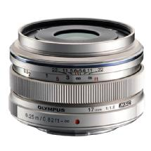 Olympus 17mm f/1.8 M.ZUIKO Wide-Angle Lens for Micro Four Thirds Mount (Sliver)