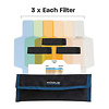 Expo Imaging | Rogue Flash Gels Color Correction Kit (3 Sets of 6 Gels) | ROGUEGEL-CC