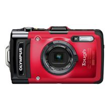 Olympus TG-2 iHS Digital Camera (Red)