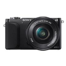 Sony Alpha NEX-3N Mirrorless Digital Camera with 16-50mm Lens (Black)