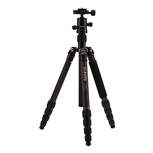 RoadTrip Carbon Fiber Travel Tripod Kit (Black) Image 0