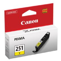 Canon CLI-251Y Standard Capacity Ink Tank (Yellow)