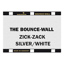 Bounce-Wall (Zig-Zag Silver/White) Image 0