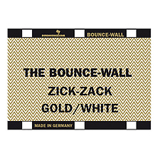 Bounce-Wall (Zig-Zag Gold/White) Image 0