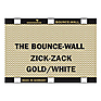 Bounce-Wall (Zig-Zag Gold/White)