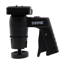 Sunpak Pistol Grip Ballhead (Quick Release) - Supports 6.6 lbs (3 kg)