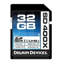 Delkin Devices 32GB 400X UHS-I SDHC Memory Card