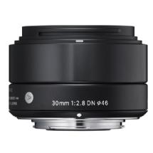 Sigma 30mm f/2.8 DN Lens for Micro 4/3 (Black)