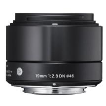 Sigma 19mm f/2.8 DN Lens for Sony E Mount (Black)