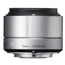 Sigma 19mm f/2.8 DN Lens for Micro 4/3 (Silver)