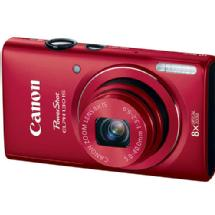 Canon PowerShot ELPH 130 IS Digital Camera (Red)