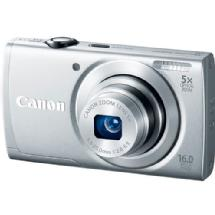 Canon PowerShot A2600 Digital Camera (Silver)