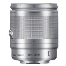 Nikon 1 Nikkor 10-100mm f/4.0-5.6 VR Lens (Silver)