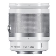 Nikon 1 Nikkor 10-100mm f/4.0-5.6 VR Lens (White)