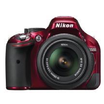 Nikon D5200 Digital SLR Camera with 18-55mm Lens (Red)