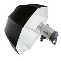 Hensel Parabolic Umbrella, 32 in. (80cm) - White