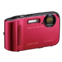 Sony Cyber-shot DSC-TF1 Digital Camera (Red)
