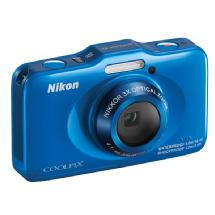 Nikon COOLPIX S31 Digital Camera (Blue)