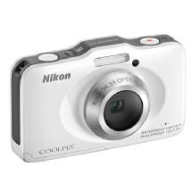 Nikon COOLPIX S31 Digital Camera (White)