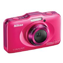 Nikon COOLPIX S31 Digital Camera (Pink)