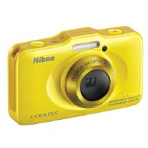Nikon COOLPIX S31 Digital Camera (Yellow)