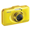 COOLPIX S31 Digital Camera (Yellow)