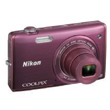 Nikon COOLPIX S5200 Digital Camera (Plum)