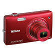 COOLPIX S5200 Digital Camera (Red)