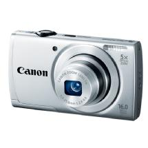 Canon PowerShot A2500 Digital Camera (Silver)