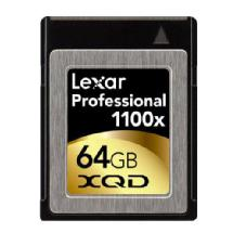 Lexar Media 64GB XQD Professional 1100x Memory Card