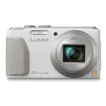 Panasonic Lumix DMC-ZS30 Digital Camera (White)