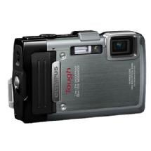 Olympus TG-830 iHS Digital Camera (Silver)