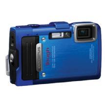 Olympus TG-830 iHS Digital Camera (Blue)