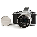 Olympus | OM-D E-M5 Mirrorless Digital Camera with 17mm f/2.8 Lens (Silver) | V204040SU010