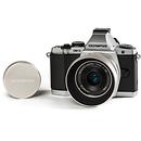Olympus | OM-D E-M5 Mirrorless Digital Camera with 17mm f/2.8 Lens (Silver) | V204040SU010