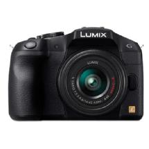 Panasonic LUMIX DMC-G6KK Mirrorless Micro Four Thirds Digital Camera with 14-42mm II f3.5-5.6 Lens