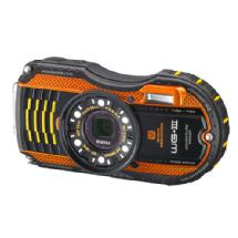 Pentax WG-3 Digital Camera (Orange)