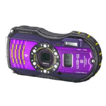 Pentax WG-3 Digital Camera with GPS Kit (Purple)