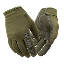 Stealth Touch Screen Friendly Design Glove (Green, Small) Image 0