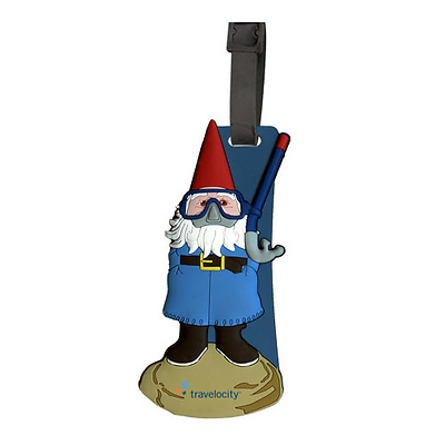 Roaming Gnome Travelocity Luggage Tag Image 0