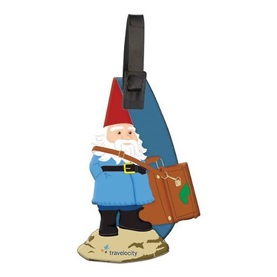 Getaway Roaming Gnome Luggage Tag Image 0