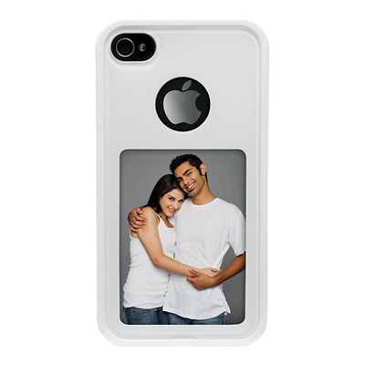 Photo iPhone Cover For iPhone 4/4S (White) Image 0