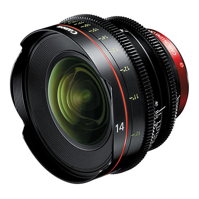 CN-E 14mm T3.1 L F Cinema Prime Lens (EF Mount) Image 0