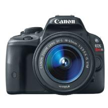 Canon EOS Rebel SL1 Digital SLR Camera with EF-S 18-55mm f/3.5-5.6 IS STM Lens