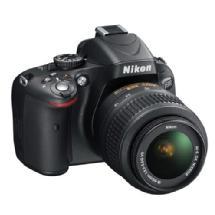 Nikon D5100 Digital SLR Camera Kit with 18-55mm and 55-200mm Lenses