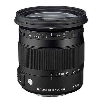 17-70mm f/2.8-4 DC Macro OS HSM Lens for Canon Image 0