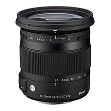 17-70mm f/2.8-4 DC Macro OS HSM Lens for Nikon Image 0