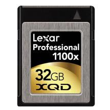 Lexar Media 32GB XQD Professional 1100x Memory Card