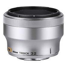 1 NIKKOR 32mm f/1.2 Lens - Silver (Open Box) Image 0